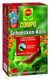 Compo 20333 Schnecken-Korn 4 x 250 g Vorteilspack - 1