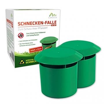 Gardigo Schnecken-Falle 2er Set Bio-Schneckenabwehr - 4