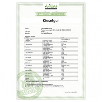 NaturaForte Kieselerde-Kieselgur inkl. Stäubeflasche 5 kg- Naturprodukt für Tiere - 2