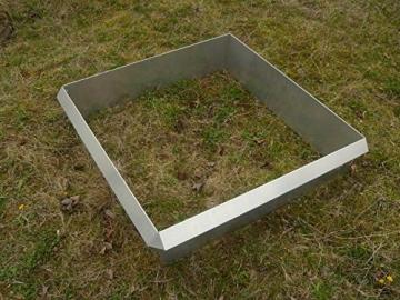 Schneckenzaun Metall für max. 20 qm (18 Bleche, 4 Ecken) - 5