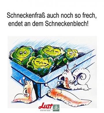 Set 14- teilig 10 x Schneckenblech + 4 x Eckvebindung - 5